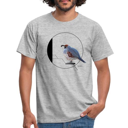 Q for Quail - Mannen T-shirt
