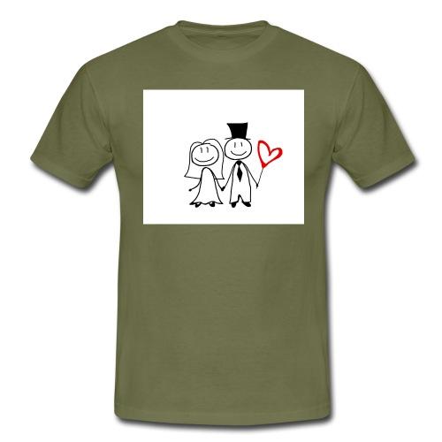 spouses 1728007 png - Männer T-Shirt