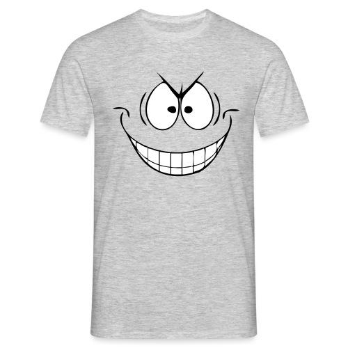 Grijns - Mannen T-shirt