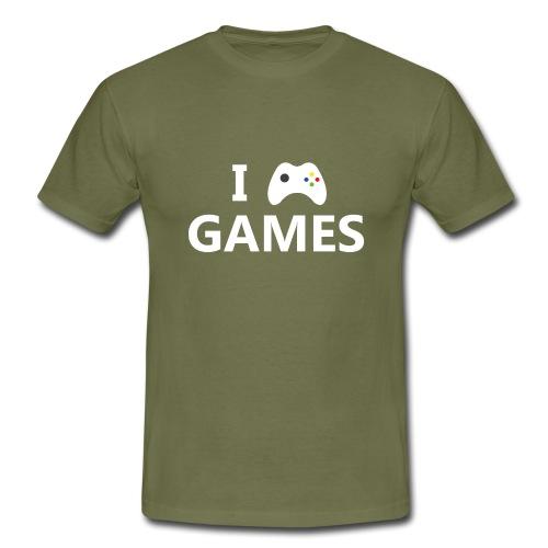 I Love Games 2 - Camiseta hombre