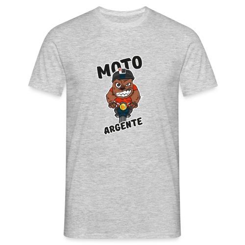 moto argente - T-shirt Homme