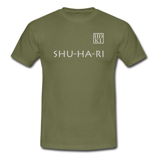Shuhari HDKI white - Men's T-Shirt