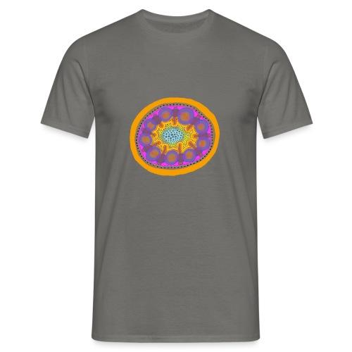Mandala Pizza - Men's T-Shirt