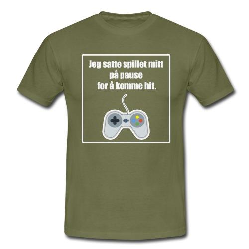 morsom t-skjorte til gamer - T-skjorte for menn