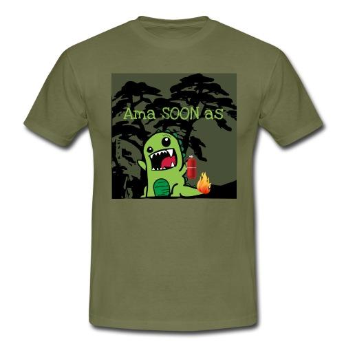AmaSOONas - Männer T-Shirt
