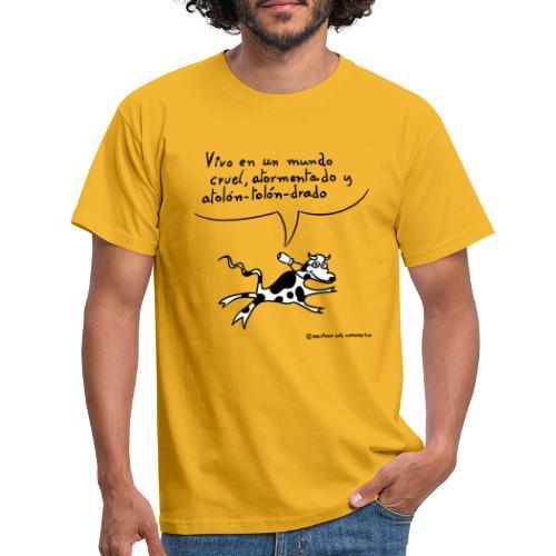 Atolón-tolón-drado, colores claros - Camiseta hombre