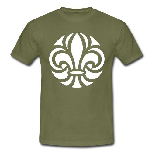Scouterna-symbol_white - T-shirt herr