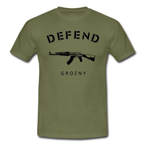 DEFEND GROZNY - Men's T-Shirt