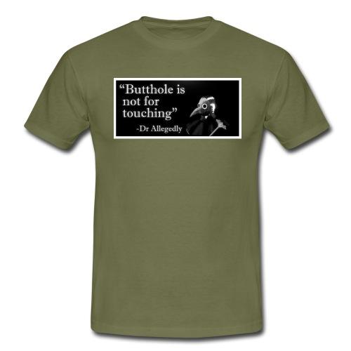 Dr Allegedly's Sage Medical Advice - Men's T-Shirt