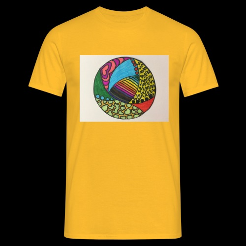 circle corlor - Herre-T-shirt