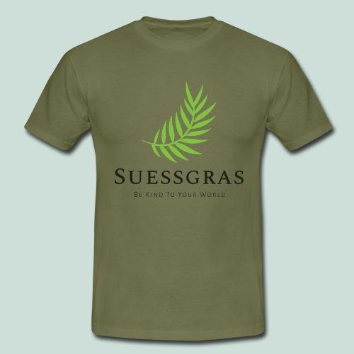 SUESSGRAS GREEN LEAF - Männer T-Shirt