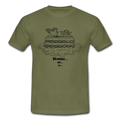 Tiramisù - tinte chiare - Maglietta da uomo