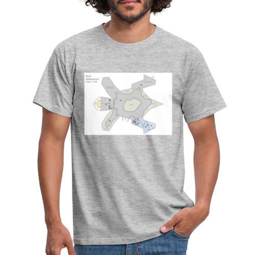 Schemat żółwiarium - Koszulka męska
