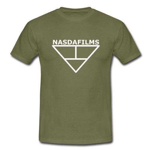 Nasdafilms Hinten - Männer T-Shirt