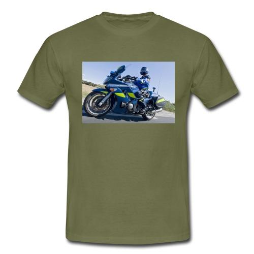 24 heures avec la brigade motorisee de Castelnau l - T-shirt Homme