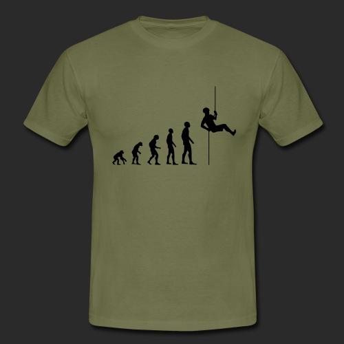 Climbing Evolution - Männer T-Shirt