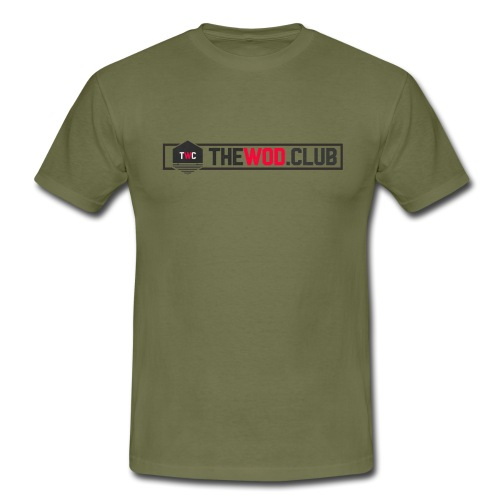 Prenda con logo The WOD Club - Camiseta hombre