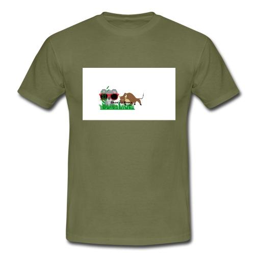 YOUTUBE_OKSE_OG_KOALA - T-skjorte for menn
