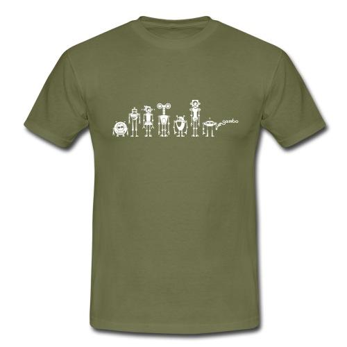 gambots family 10 - Männer T-Shirt
