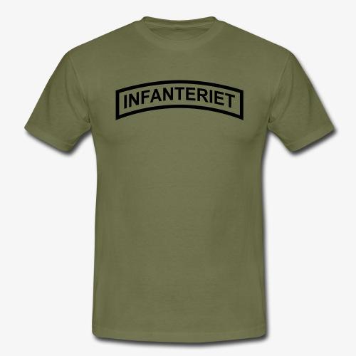 INFANTERIET enfärgad - T-shirt herr