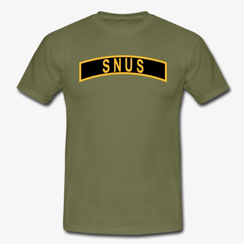 SNUS-BÅGE - T-shirt herr