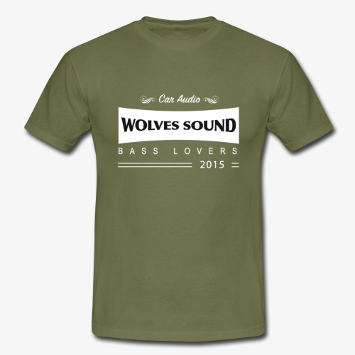 wolvespatched - T-shirt Homme