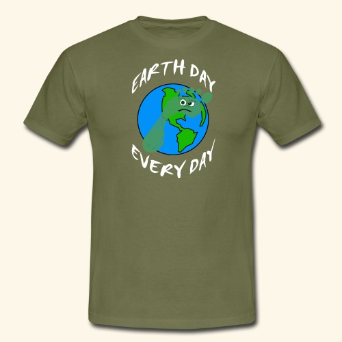 Earth Day Every Day - Männer T-Shirt