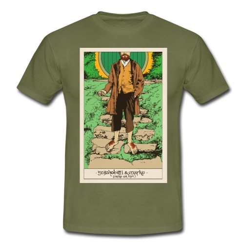 Soijahobitti ja Marko (värillinen) - Miesten t-paita