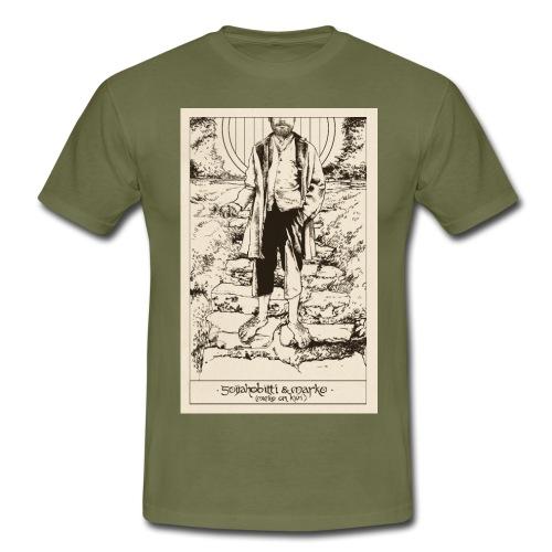Soijahobitti ja Marko (mustavalkoinen) - Miesten t-paita