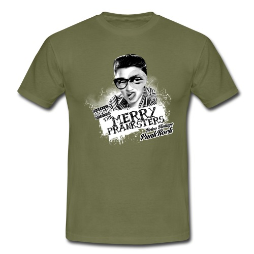 The Merry Pranksters Black Hoodie Unisex - Men's T-Shirt