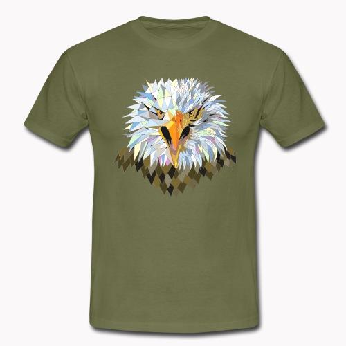 Oiseau aigle nature animal - T-shirt Homme