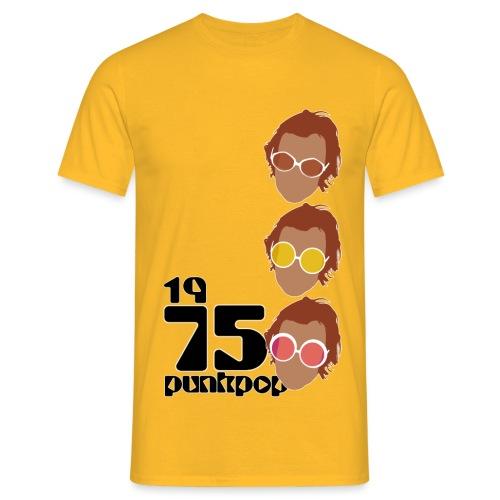 Elton PunkPop 1975 - Maglietta da uomo