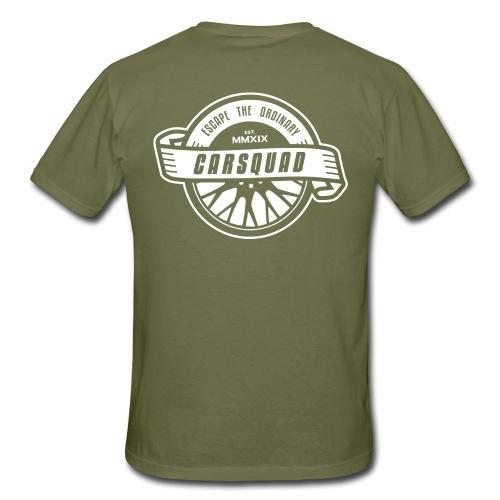 carsquad badge - Männer T-Shirt
