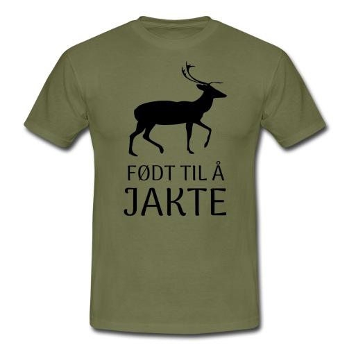 Motiv til jeger - T-skjorte for menn