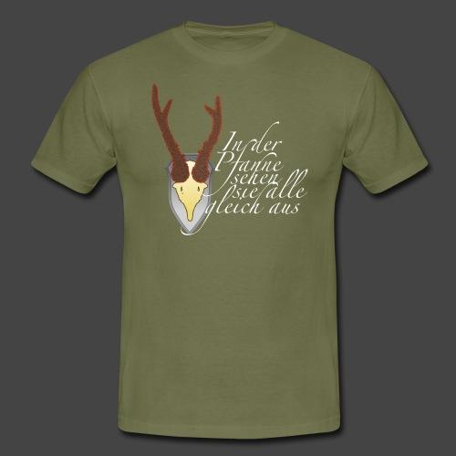 Jägershirt für den Topfjäger - Männer T-Shirt