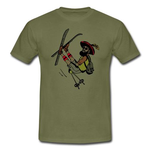 Freestyler mit Lederhosen - Maglietta da uomo