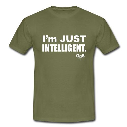 ImJUSTINTELLIGENT - T-shirt herr