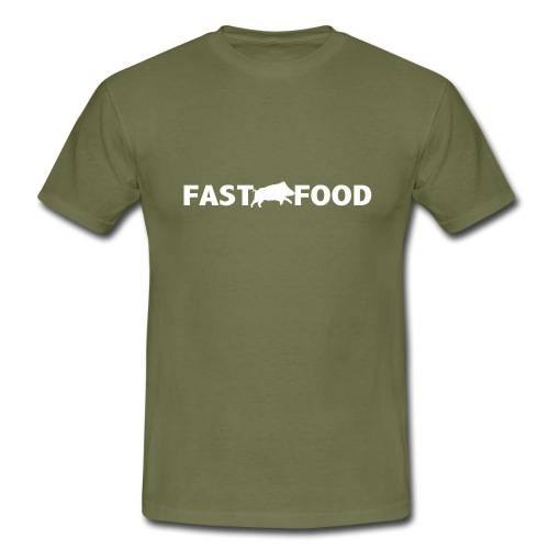fast food ;) - T-shirt Homme