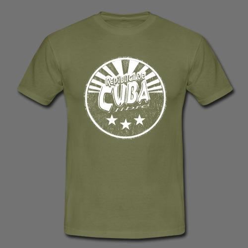 Cuba Libre (1c white) - Männer T-Shirt