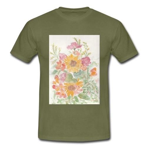 Flowers - Maglietta da uomo