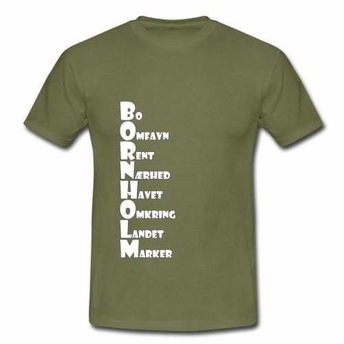 Bornholm - Herre-T-shirt