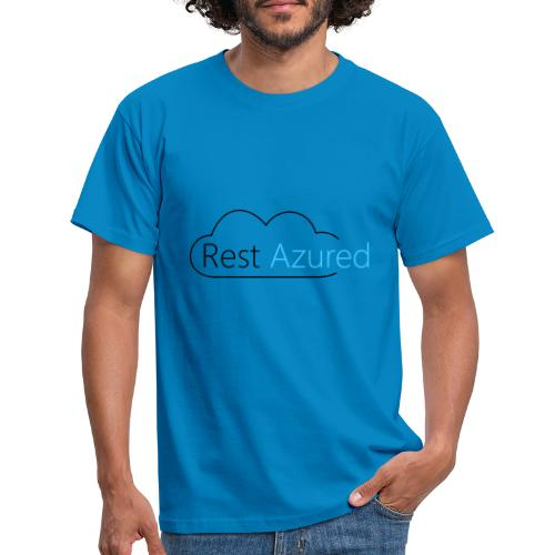 Rest Azured # 1 - Men's T-Shirt