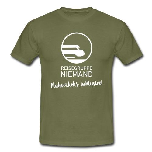 Smart-Logo Reisegruppe Niemand - Nahverkehr inkl. - Männer T-Shirt