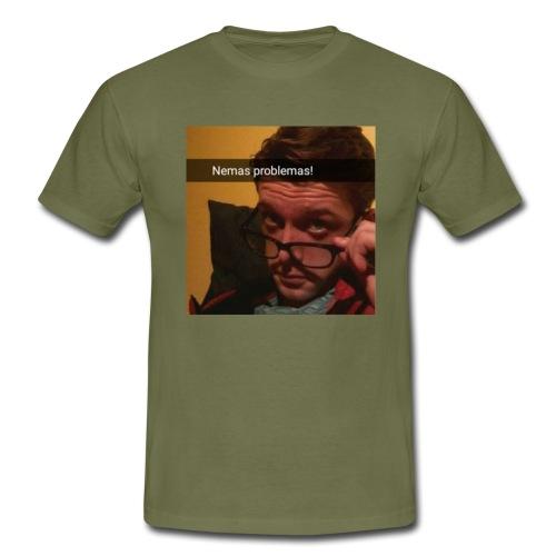 SamTheMan logo - T-shirt herr