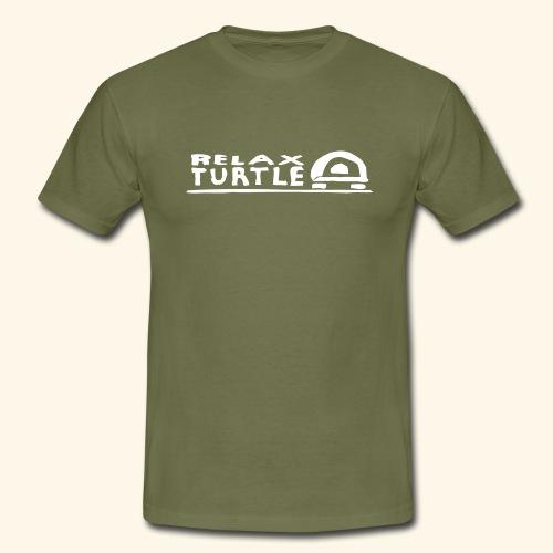relax-turtle - Männer T-Shirt