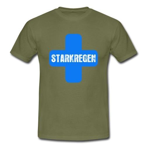 STARKREGEN BLUE C 2019 png - Männer T-Shirt