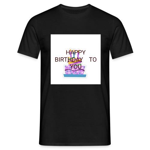 happy birthday 1 - Men's T-Shirt