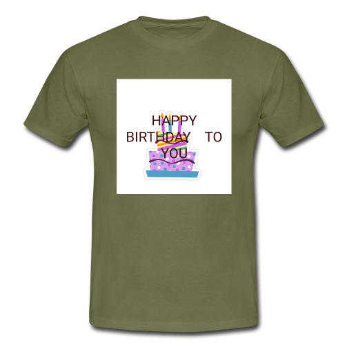 happy birthday 1 - Men's T-Shirt