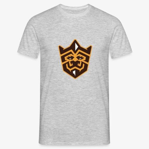 3D Lion Colour - Men's T-Shirt