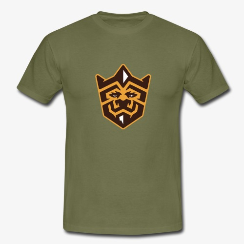 3D Lion Colour - Men's T-Shirt